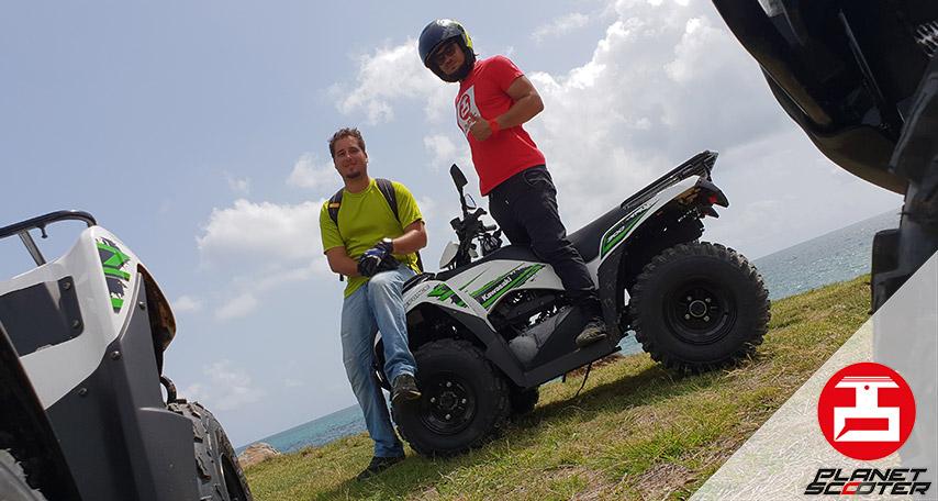 Partenariat Planet Scooter et Quad Guadeloupe